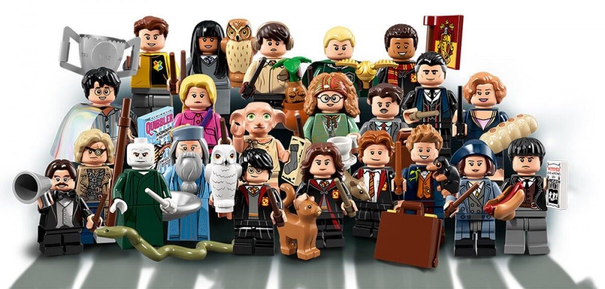 Lego Harry Potter fantástico Besteias Minifiguras de 71022 juego completo de 22