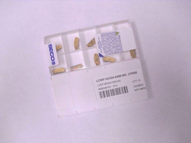 Seco 10 x Lcmf 160304-0300-mt Cp500