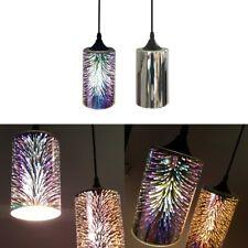 Contemporary 3D Firework Burst Ceiling Pendant Glass Light Shade Lampshade Bulb