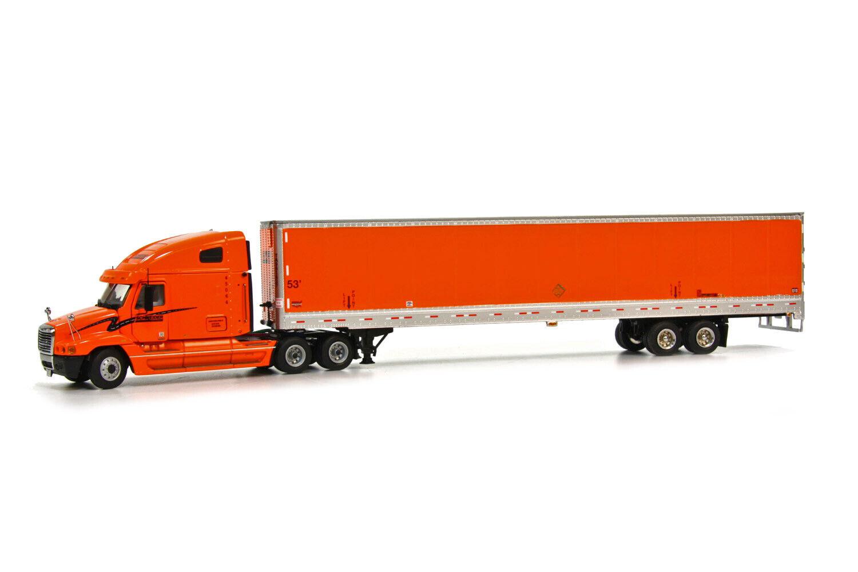 Sword SW3003 Freightliner Century w Wabash Box Trailer - Schneider 1 50 MIB