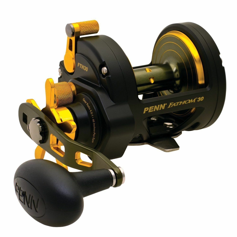 Penn FTH30 Fathom Star Drag  Fishing Reel new  discount low price
