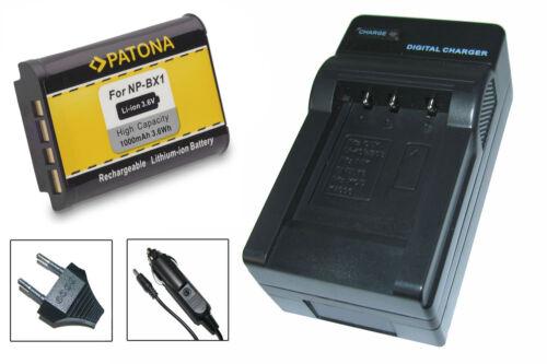 CARGADOR para Sony Cyber-shot dsc-hx80 np-bx1 dsc-hx90 Batería dsc-hx90v