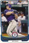2012 Bowman Nelson Cruz Texas Rangers #10 Baseball Card