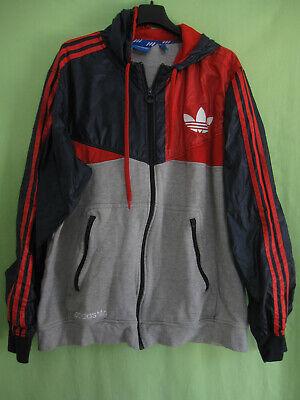 Veste Adidas à Capuche Originals Nylon Gris Jacket Homme style vintage XL | eBay
