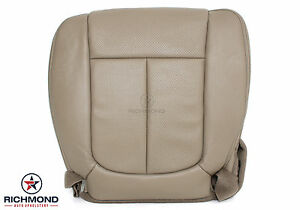 Awesome Details About 2011 2014 Ford F150 Lariat Driver Side Bottom Perforated Leather Seat Cover Tan Spiritservingveterans Wood Chair Design Ideas Spiritservingveteransorg