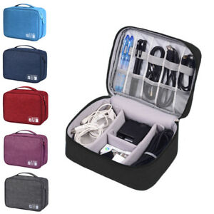 Portable-Electronic-Accessories-Cable-USB-Organizer-Bag-Case-Drive-Travel-Insert