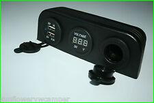 VW T4 12v Power Charge 3 Hole Binnacle Phone Sat Nav USB Socket Camper Van