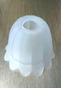 Vetro di ricambio per lampada campana paralume applique lampadario bianco