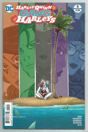NEAR MINT HARLEY QUINN AND HER GANG OF HARLEYS # 5