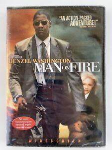 Man-On-Fire-Denel-Washington-New-Sealed-DVD-Widescreen-Bilingual