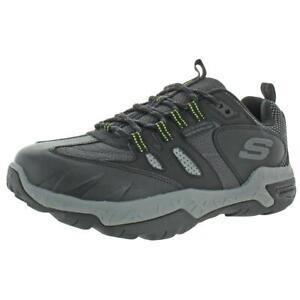 Skechers-Mens-Sawback-Pro-Black-Athletic-Shoes-Sneakers-9-5-Medium-D-BHFO-2215