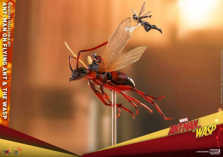 HotToys HT MMSC004 The Ant-Man on Flying Ant Ant Ant and the Wasp Miniature Set bf48ea