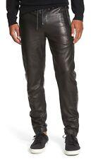 VINCE Lamb Leather Moto Jogger Pants Size M  RETAIL $ 895 plus tax