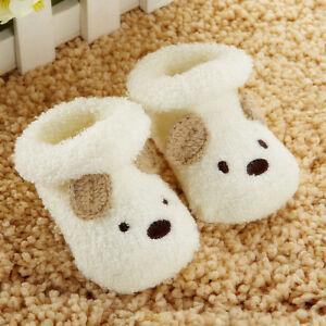 Warm-Newborn-Socks-Unisex-Baby-Boy-Girls-Infant-Cute-Bear-Crib-Warm-Shoes-NEW
