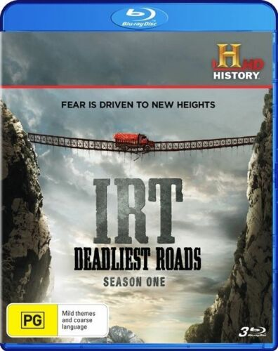 1 of 1 - Ice Road Truckers - Deadliest Roads (Blu-ray, 2011, 3-Disc Set)-Free postage