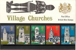 GB-1972-British-Architecture-Village-Churches-Presentation-Pack-41