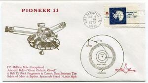 1973 Pioneer 11 Asteroid Belt Mars Jupiter Spacecraft Cape Canaveral Satellite