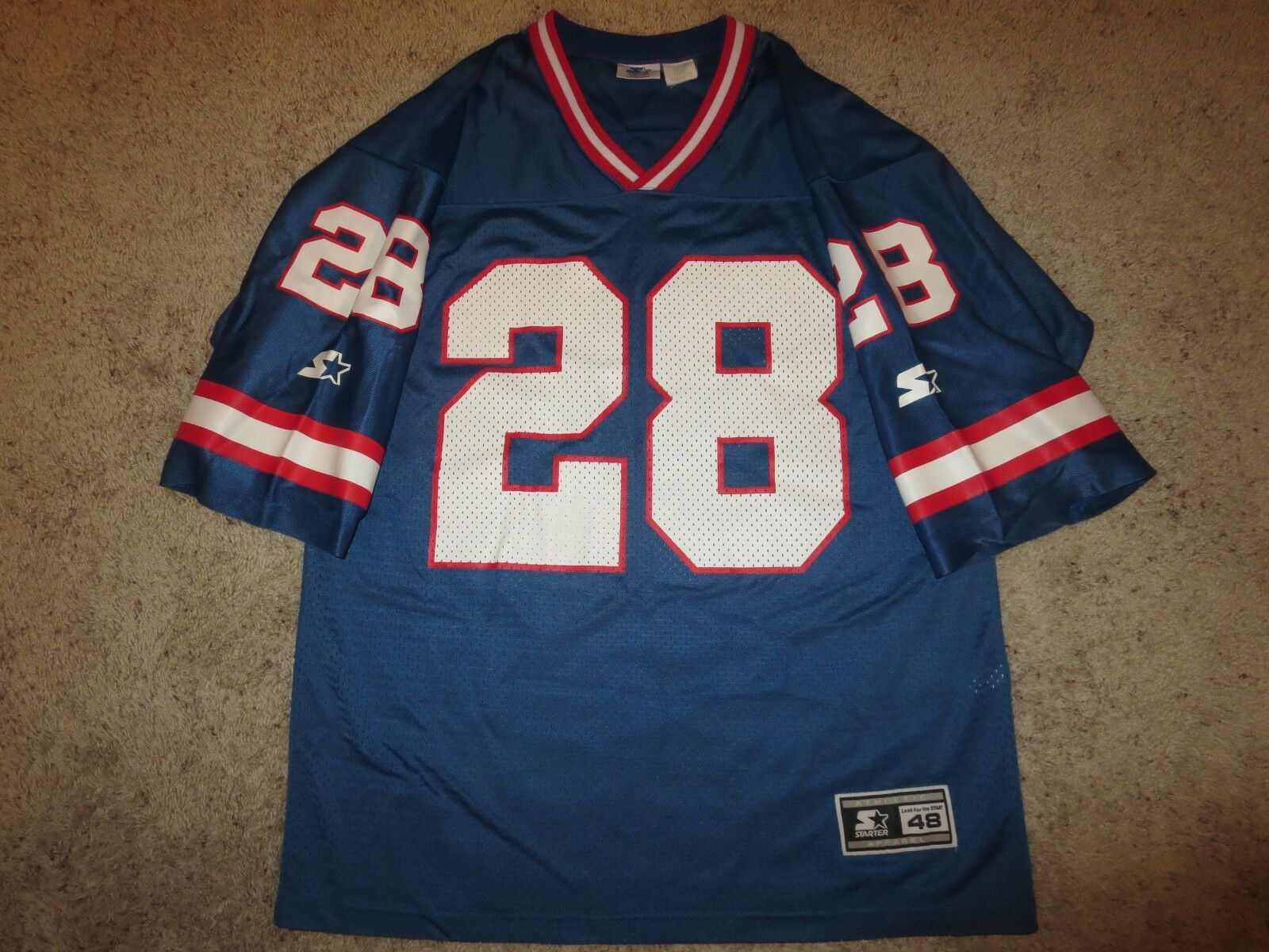 Tyrone Wheatley  28 New York Giants NFL Starter Starter Starter Trikot 48 L 619ebd