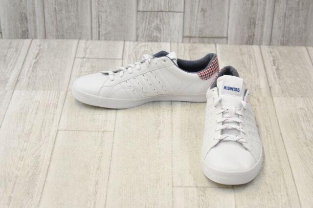 best loved 1d31a 66082 K-Swiss Mens Belmont White Walking Shoes Size EUR 42 5