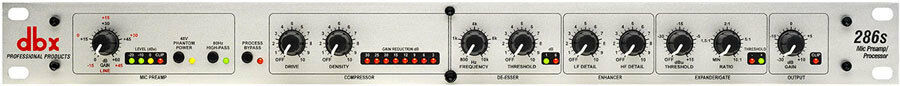 Dbx 286s Mikrofon Preamp Prozessor Neu