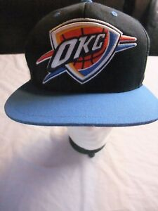 buy popular dc3d1 2e248 Image is loading Vintage-Oklahoma-City-Thunder-OKC-Mitchell-amp-Ness-