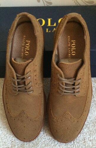 6 Rrp In Shoes Bnib Size Mens Ralph £215 Uk Polo Brown Lauren Leather Torrington wPFpq