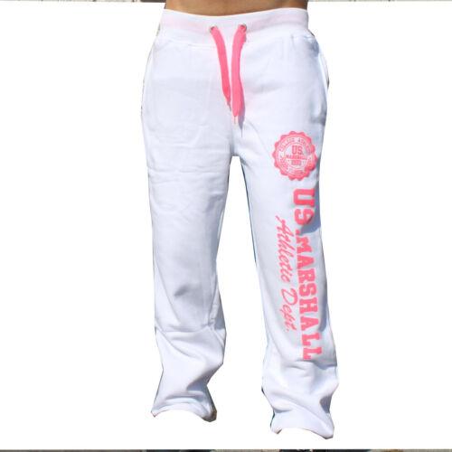 US MARSHALL Short Blanc Rose XS S M L XL XXL