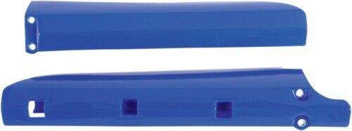 Color Blue UFO Plastics Fork Slider Protectors Blue Fork Tube YA03886-089
