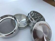 Grinder (SharpStone) 4 piece 2 inches (Silver)