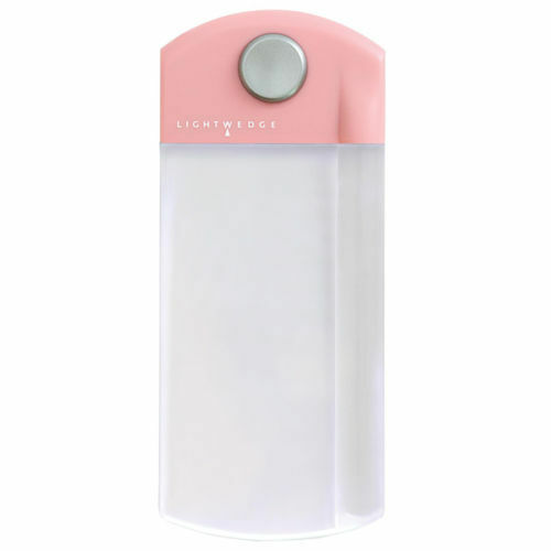 LightWedge Mini 1.5X Lighted Magnifier Pocket Magnifier Book Light Mag Pink