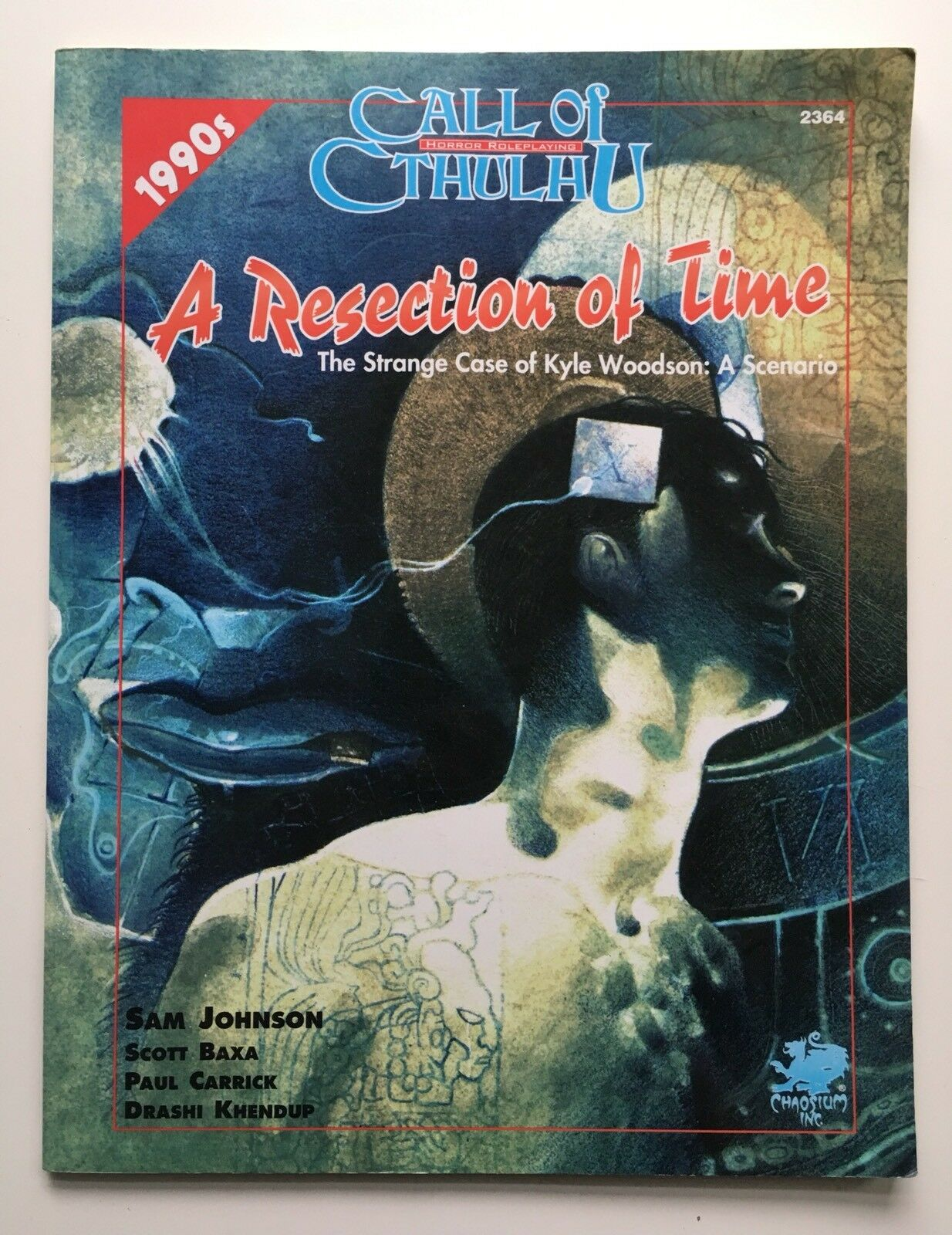 Call of Cthulhu Cthulhu Cthulhu - A Resection of Time - Strange Case Kyle Woodson Chaosium 2364 28eddd