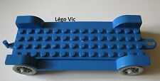 Lego Fabuland x612 Car Chassis 14 x 6 Old Bleu Blue du 137 344 134 347 3635