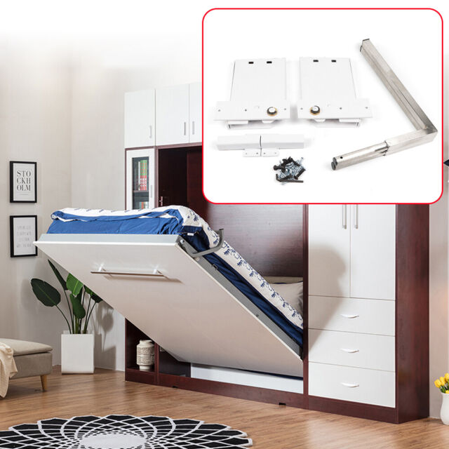 Wall Bed Mechanism Hardware Kit Legs Small Queen Size For