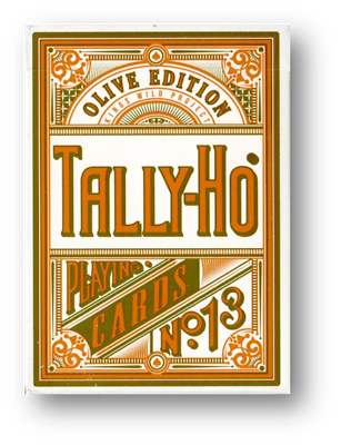 Olive Tally Ho Playing Cards By Jackson Robinson Partita A Poker Carte Cardistry-mostra Il Titolo Originale