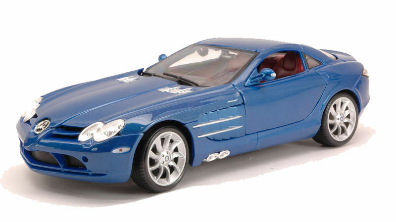 Mercedes SLR McLaren Blue 1:18 Model 36653BL MAISTO