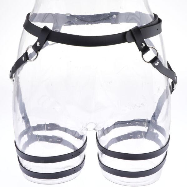 Verstellbare Taille Bein Harness Socken Strumpfgürtel Strapsbänder, Perfekt