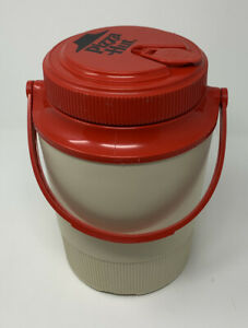 Gott-Pizza-Hut-Logo-1980-s-Vintage-1-2-Gallon-Thermos-Water-Cooler-Jug-1502