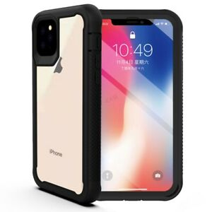 For-iPhone-11-Pro-Max-Hybrid-Dual-Layer-Case-Rugged-Shockproof-Bumper-Back-Cover