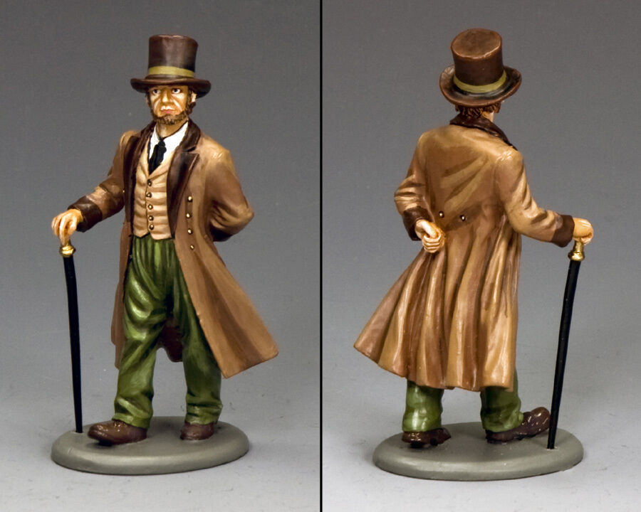 King and Country DICKENS-IL SIGNOR Phineas Wagstaff WoD029 WoD29 in metallo verniciato