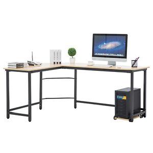 Image Is Loading L Shaped Desk Corner Computer Desk Workstation Home