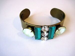 Loren Hope Br Cuff With Stones And