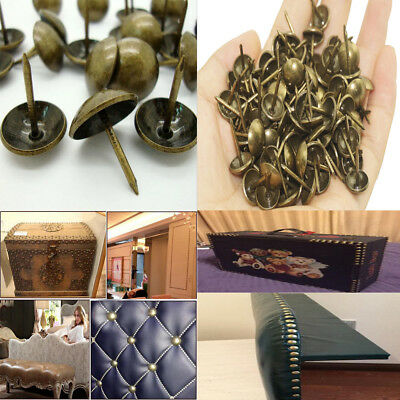50 X  ANTIQUE  NAIL//STUDS UPHOLSTERY SUPPLIES