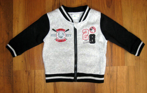 86 Disney Micky Maus Baby Hose Gr Shirt Set College Jacke 74 3-tlg 80