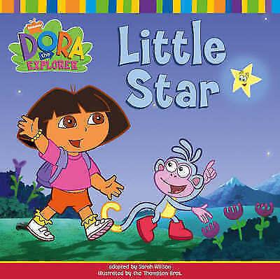 """AS NEW"" Nickelodeon, Little Star (Dora the Explorer), Paperback Book"