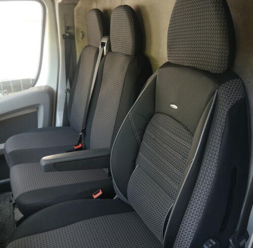 Sitzbezüge Schonbezüge Peugeot Boxer II Fahrersitz und Doppelbank
