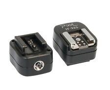 Blitzschuhadapter Blitzadapter für ISO Standard-Blitz an Sony Alpha + PC-Sync