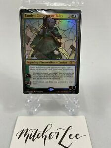 MTG-FOIL-Tamiyo-Collector-of-Tales-Stain-Glass-Planeswalker-Secret-Lair
