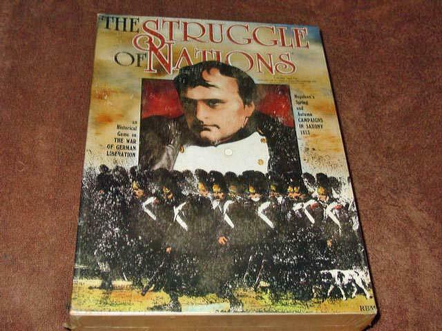 lo último Avalon Hill-la lucha de de de las Naciones-Napoleón  guerra de libertad alemán (sellado)  tiendas minoristas