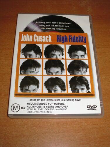 1 of 1 - JOHN CUSACK - HIGH FIDELITY - DVD REGION 4 ( EXCELLENT ! )