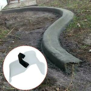 Yard-Landscape-Curb-Tool-Plastering-Concrete-Trowel-Flooring-Garden-White-T2F2